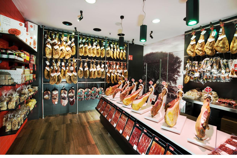 Comprar jamón en Santa Coloma de Gramenet
