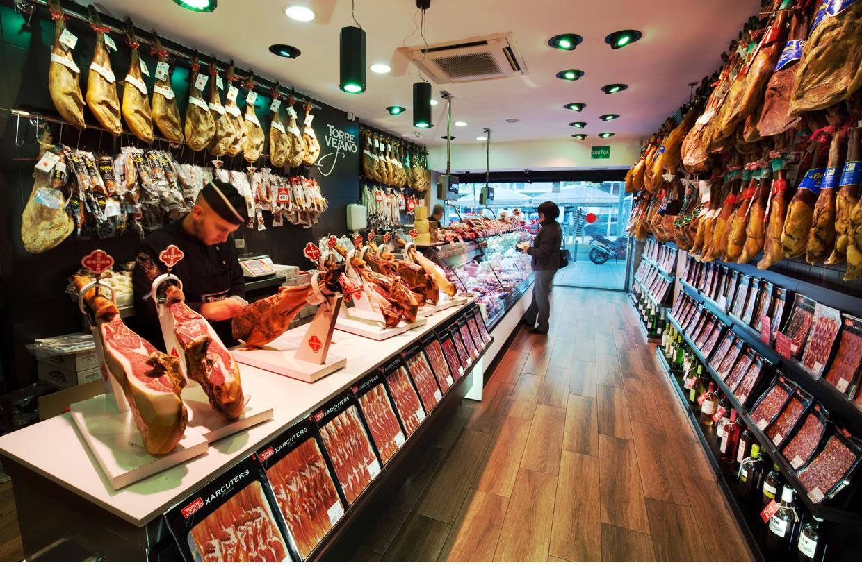 Comprar jamón ibérico en Santa Coloma de Gramenet